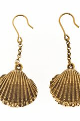 Aurelie Bidermann Fortaleza Drop Earrings - Lyst
