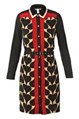 Diane Von Furstenberg Rodeo Newsy Dress - Lyst