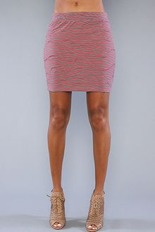 Free People The Body Con Knit Mini in Rose - Lyst
