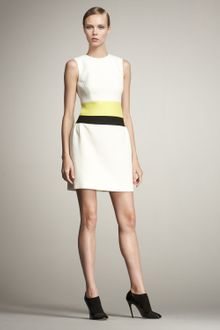 Giambattista Valli Colorblock-waist Dress - Lyst