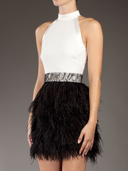 Givenchy Feather Halte...