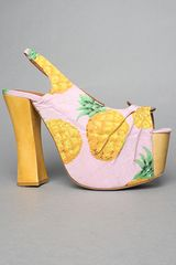Jeffrey Campbell The Ring-a-ling Shoe in Pink Pineapple - Lyst