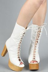 Jeffrey Campbell The Swan Lake Shoe in White - Lyst