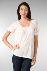 Joe's Jeans Ariana Pleated Top - Lyst