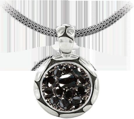 John Hardy Kali Pure Lavafire Silver In Black Lyst