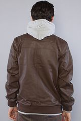 Obey The Rapture Jacket in Brown in Brown for Men - Lyst