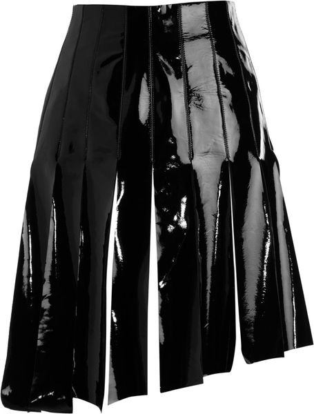 Rodarte X Opening Ceremony Fringed Skirt in Black - Lyst