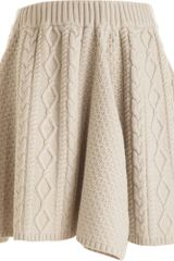 Rodarte x Opening Ceremony Cable Skirt