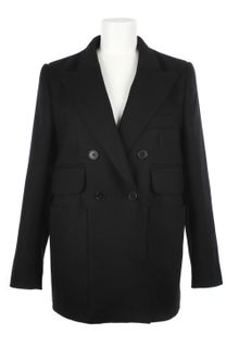 Carven Wool Cloth Coat - Lyst
