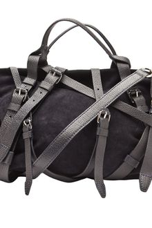 Alexander Wang Kirsten Satchel in Midnight - Lyst