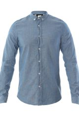Paul Smith Chambray Shirt - Lyst
