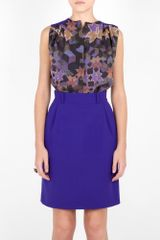 Preen Tetjana Dress in Blue (cobalt) - Lyst