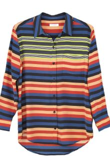 Equipment Daddy Striped Blouse - Lyst