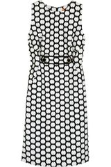 Tory Burch Clea Polka-dot Cotton Dress