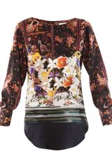 Mary Katrantzou Bumble Bee Blouse - Lyst