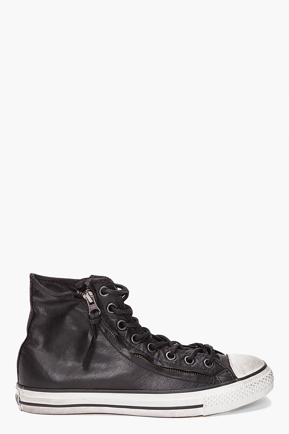 Lyst Converse Double Zip Hi Top In Black For Men