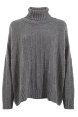Eskandar Roll Neck Jumper - Lyst