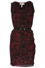 Etoile Isabel Marant Silk Belted Dress