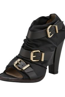 Fendi Buckled Bootie - Lyst