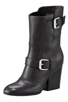 Giuseppe Zanotti High-heel Buckled Motorcycle Boot - Lyst
