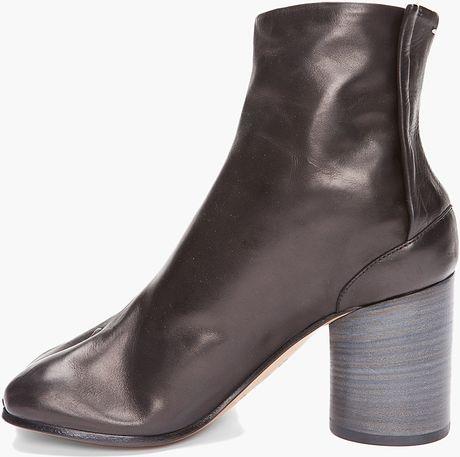 Maison Margiela Tabi Boot In Brown Black Lyst