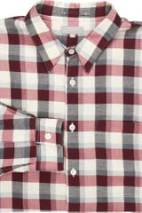 Margaret Howell Check Button-up Shirt - Lyst