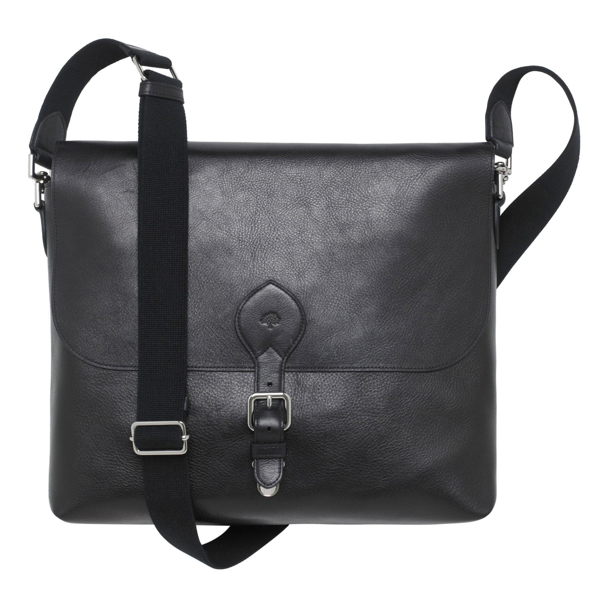 310d08981a830 Mulberry Albert Satchel in Black for Men - Lyst