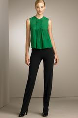 Piazza Sempione Marion Stretch-wool Pants - Lyst