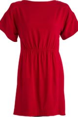 Rag & Bone Dalmeny Red Dress - Red - Lyst
