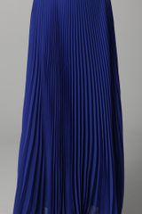 Alice + Olivia Shannon Pleated Long Skirt - Lyst