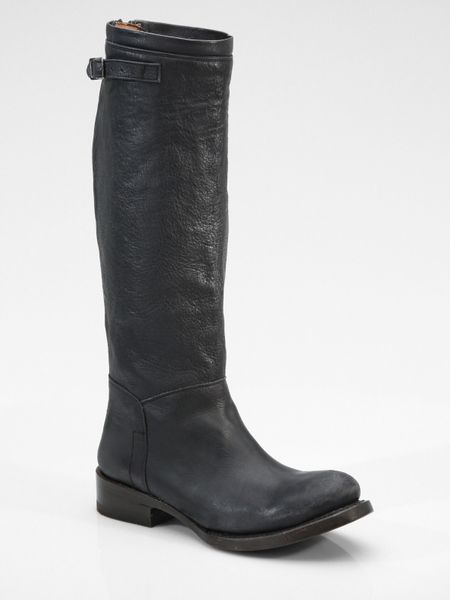 ash distressed boots in black lyst