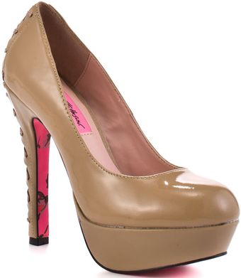 Betsey Johnson Dita - Blush Patent - Lyst
