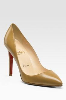 Christian Louboutin Pigalle Point-toe Pumps - Lyst