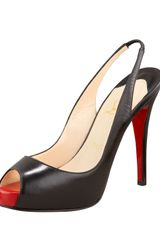 Christian Louboutin Prive Pump - Lyst