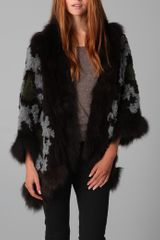 Elizabeth And James Salma Fur Jacket - Lyst