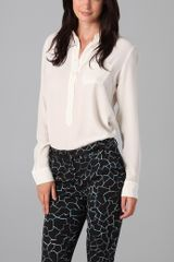 Equipment Capri Blouse - Lyst