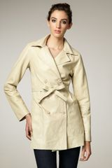 Graham & Spencer Leather Trenchcoat - Lyst