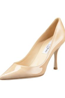 Jimmy Choo Pointed-toe Patent Pump - Lyst