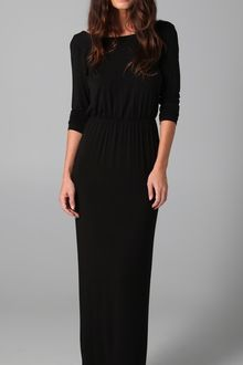 Kova & T Sexy Back Maxi Dress - Lyst