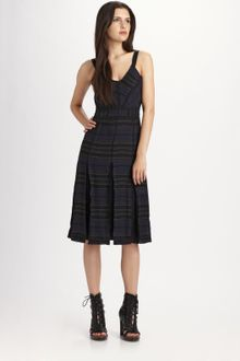 Proenza Schouler Printed Silk Dress - Lyst