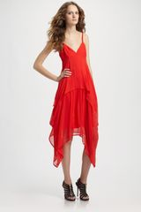 Vena Cava Silk Chiffon Youth Dress - Lyst