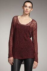 Helmut Lang Wide-stitch Sweater - Lyst