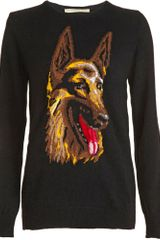 Balenciaga German Shepherd Sweater - Lyst