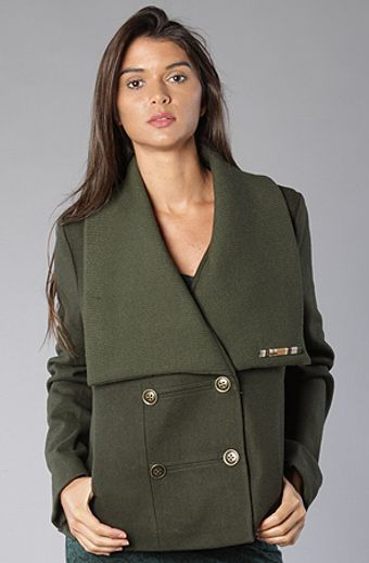 Insight The Brick Lane Coat in Military Green - Lyst