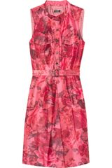 J.Crew Bonnie Floral-print Taffeta Dress - Lyst