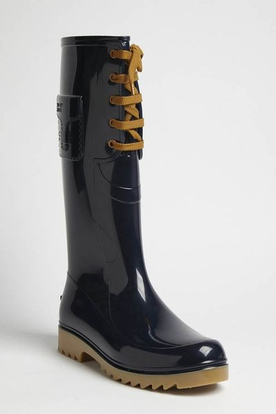 See By Chloé Rain Boot in Navy in Blue (navy) - Lyst