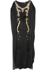 Temperley London Long Narcissa Embellished Silk Kaftan - Lyst