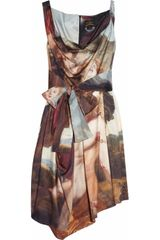 Vivienne Westwood Anglomania Friday Printed Cotton Dress - Lyst