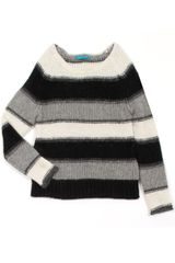 Alice + Olivia Striped Alpaca - Lyst