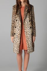 By Malene Birger Rufa Faux Fur Coat - Lyst